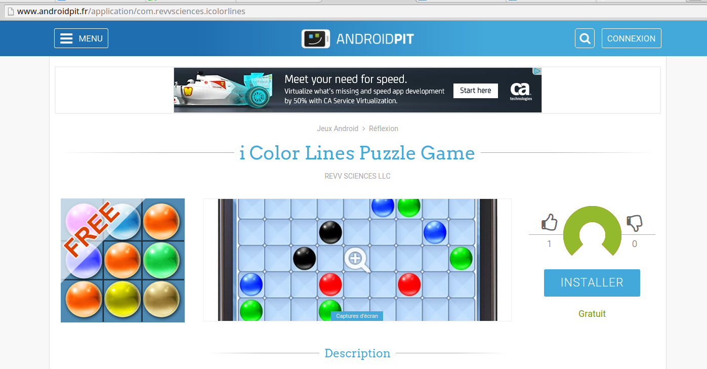 androidpit i color lines puzzle game review
