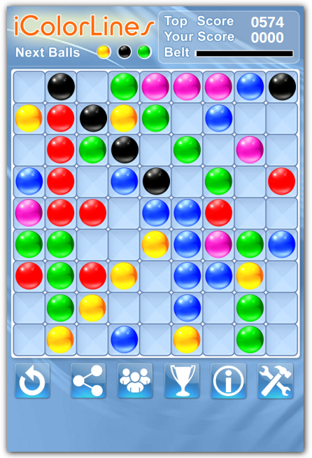 color lines free puzzle game