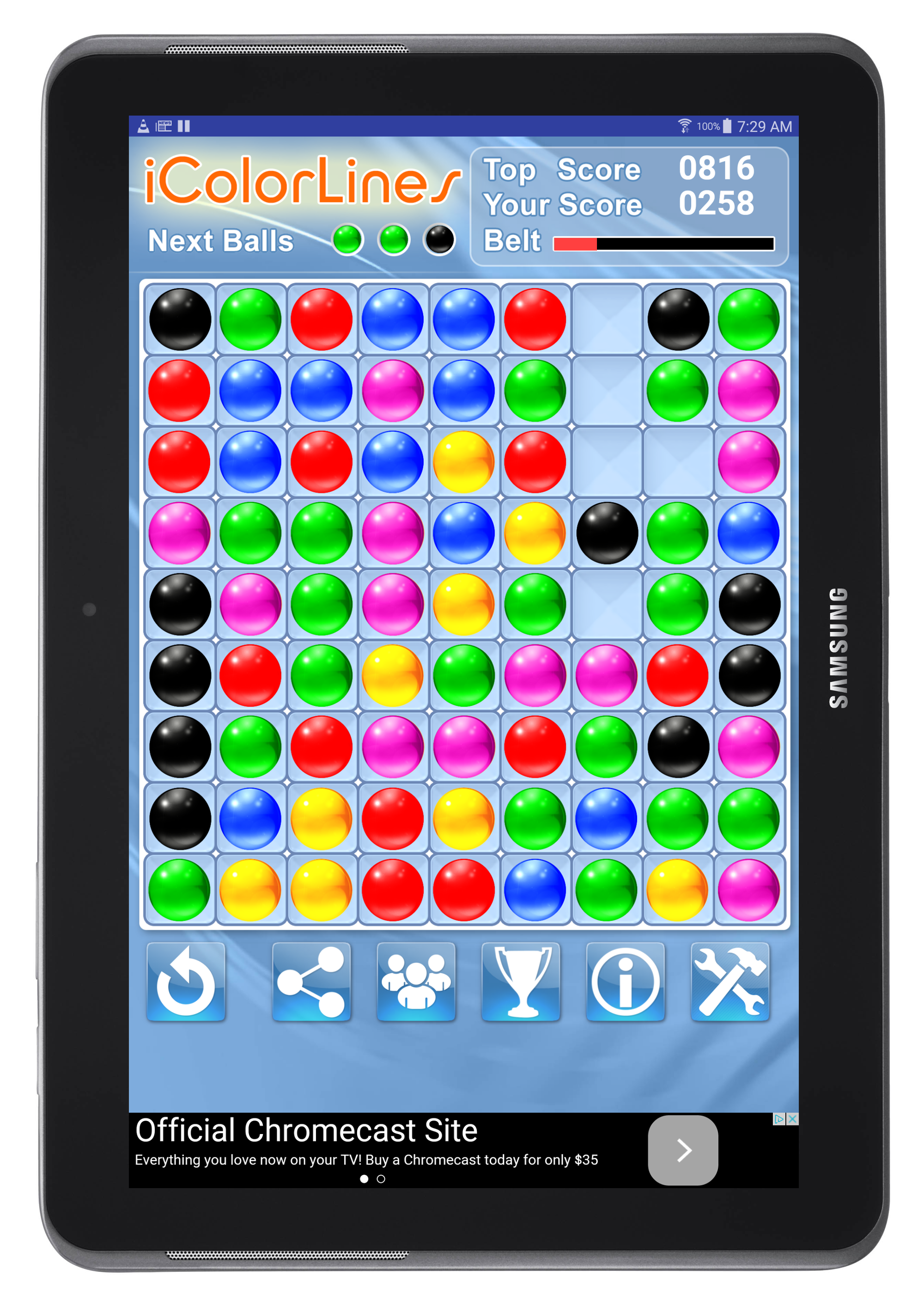 color lines game free download for android tablet 10 inch at google play