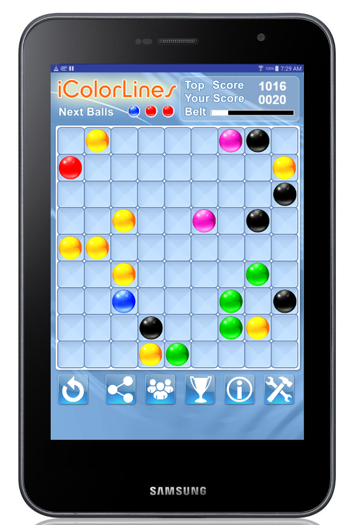 color lines game free download for android tablet 7 at Google Play