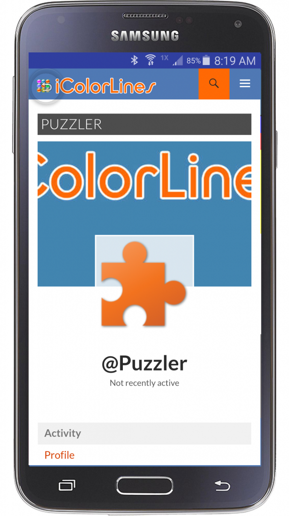 icolorlines android puzzle game profile