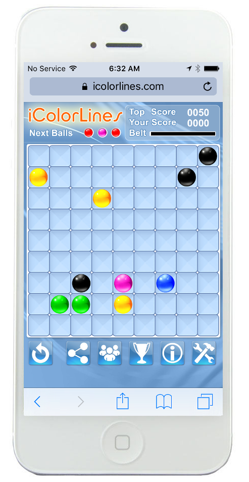 icolorlines puzzle game iphone