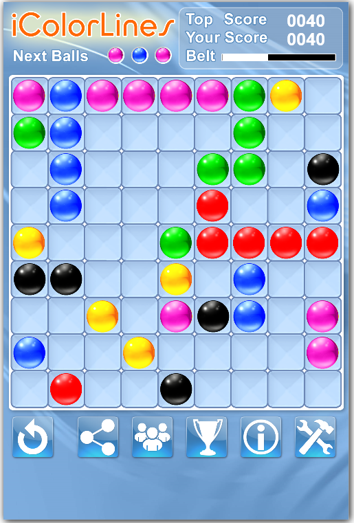 Play Free Online | i Color Lines Puzzle Game
