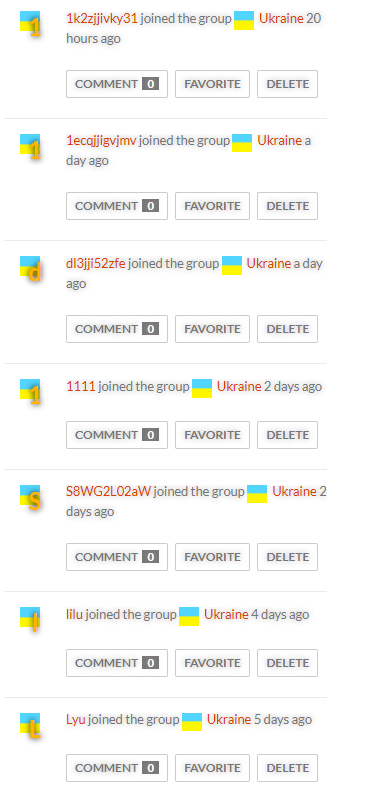 More players from Ukraine joined recently